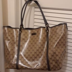 Authentic Gucci Crystal Tote